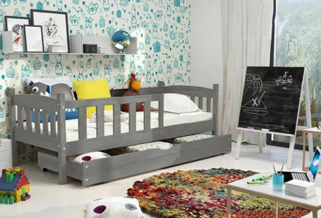 Kinderbett Ausziehbarem Unterbett Und Schubladen ~ Innenräume und Möbel Ideen