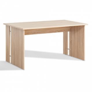 Schreibtisch 2 Eiche sonoma 150 x 75 x 79 cm