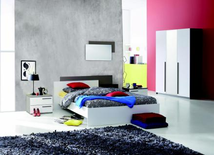 schwarz wei schlafzimmer g nstig kaufen bei yatego. Black Bedroom Furniture Sets. Home Design Ideas