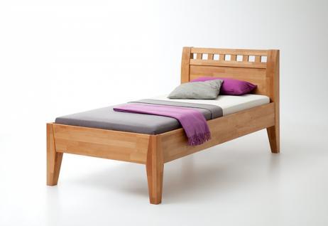 Einzelbett buche g nstig sicher kaufen bei yatego for Einzelbett 140x200