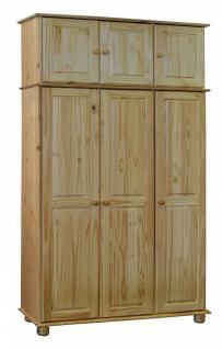 kiefer kleiderschrank massivholz g nstig bei yatego. Black Bedroom Furniture Sets. Home Design Ideas
