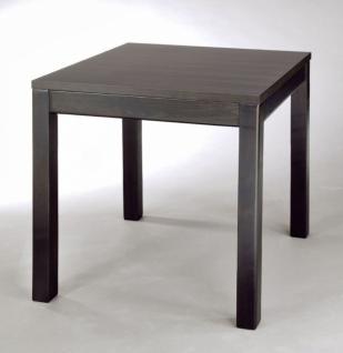esstisch 80 x 80 ausziehbar g nstig online kaufen yatego. Black Bedroom Furniture Sets. Home Design Ideas
