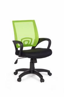 Rivoli Bürostuhl Stoff / Netz Limette