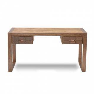 schreibtisch rustikal online bestellen bei yatego. Black Bedroom Furniture Sets. Home Design Ideas