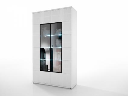 weiss vitrine hochglanz online bestellen bei yatego. Black Bedroom Furniture Sets. Home Design Ideas