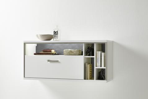 h ngeschrank wei wohnzimmer g nstig online kaufen yatego. Black Bedroom Furniture Sets. Home Design Ideas