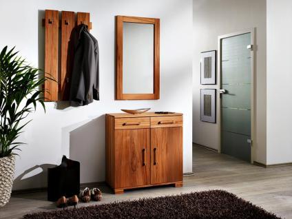 Cleano Garderoben set in massiver Kernbuche