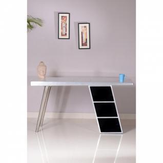 Schreibtisch Downtown Alu 150 x 60 x 75 cm