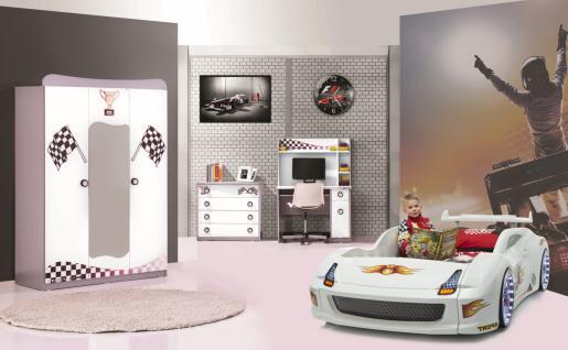 Autobettzimmer Set 4-teilig Fivex Weiß