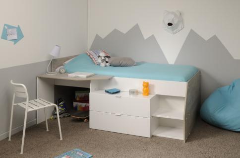 jugendbett 100 x 200 online bestellen bei yatego. Black Bedroom Furniture Sets. Home Design Ideas