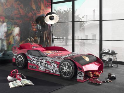 Autobett Racer 90x200cm in Rot