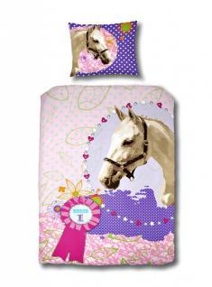 Bettwäsche Amica Horse 140x220 cm