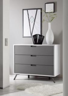 kommode hochglanz anthrazit g nstig online kaufen yatego. Black Bedroom Furniture Sets. Home Design Ideas