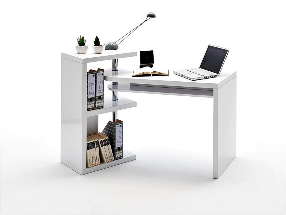 schreibtisch kombination curt wei hochglanz kaufen bei. Black Bedroom Furniture Sets. Home Design Ideas