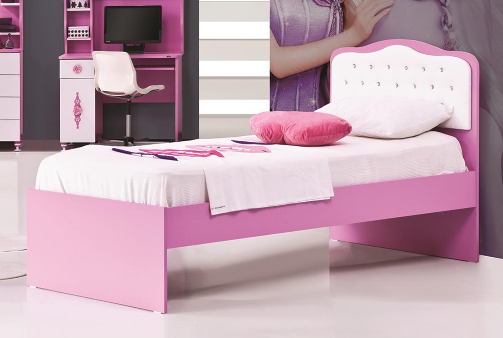 kinderbett zuckerfee in rosa wei kaufen bei m bel lux. Black Bedroom Furniture Sets. Home Design Ideas