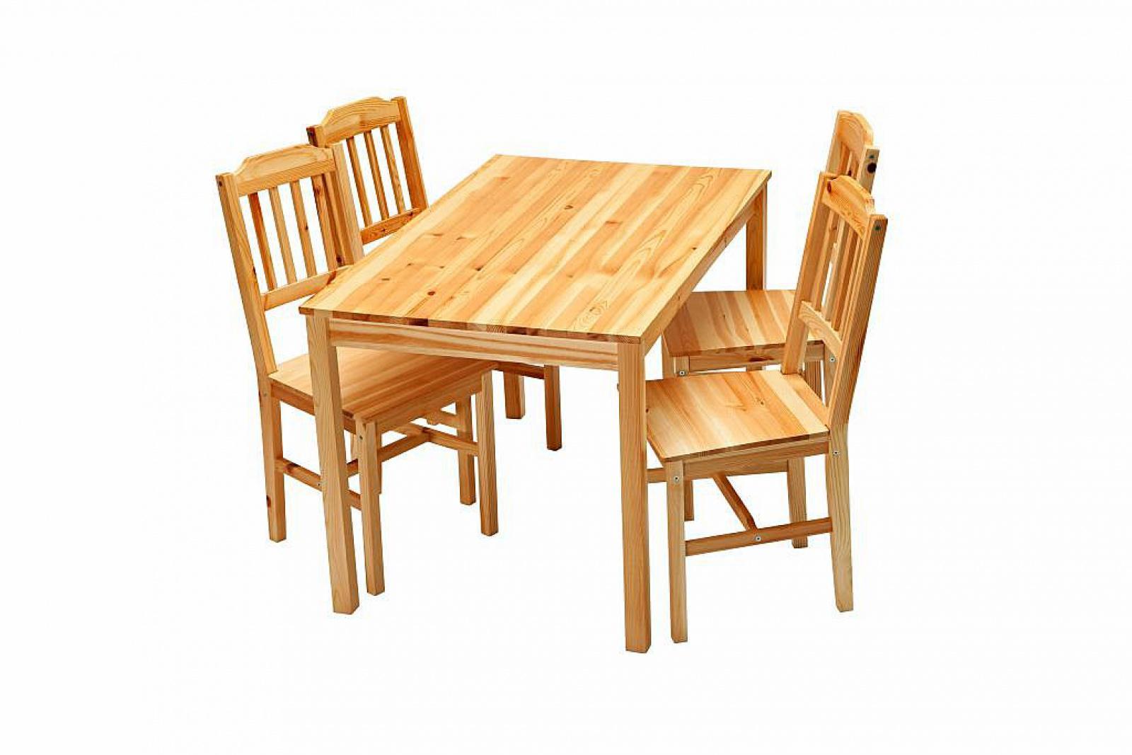 esszimmer set tisch julian mit 4 stühlen esszimmer set ...
