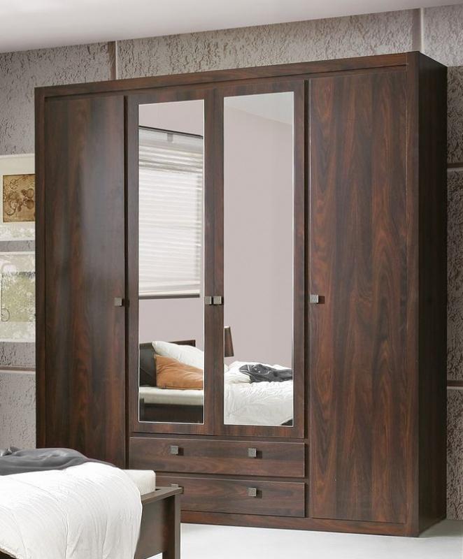 kleiderschrank roberta 4 trg in eiche durance kaufen bei m bel lux. Black Bedroom Furniture Sets. Home Design Ideas