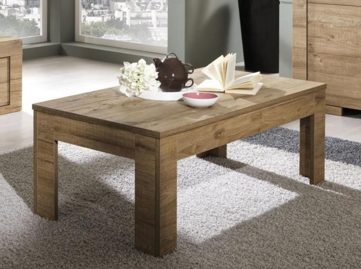 couchtisch roma eiche natur kaufen bei m bel lux. Black Bedroom Furniture Sets. Home Design Ideas