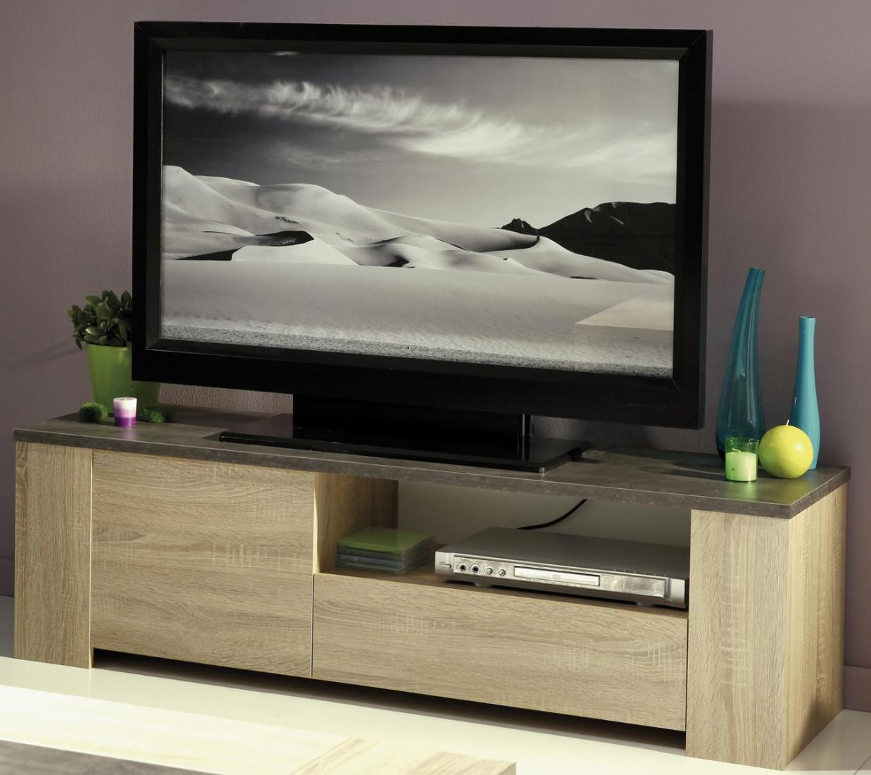 tv lowboard lossi eiche natur kaufen bei m bel lux. Black Bedroom Furniture Sets. Home Design Ideas