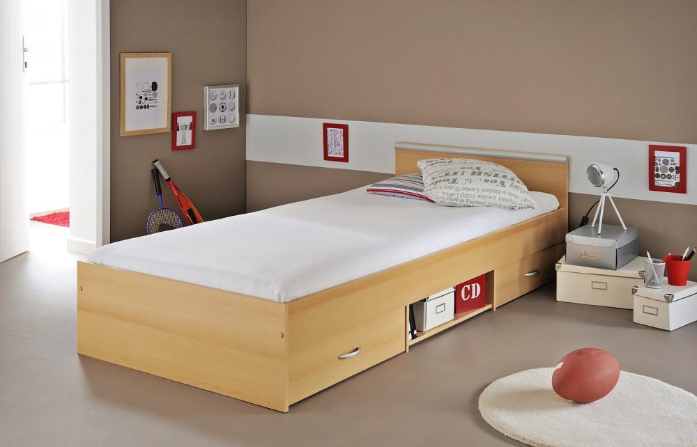 stauraum bett maxi in buche kaufen bei m bel lux. Black Bedroom Furniture Sets. Home Design Ideas