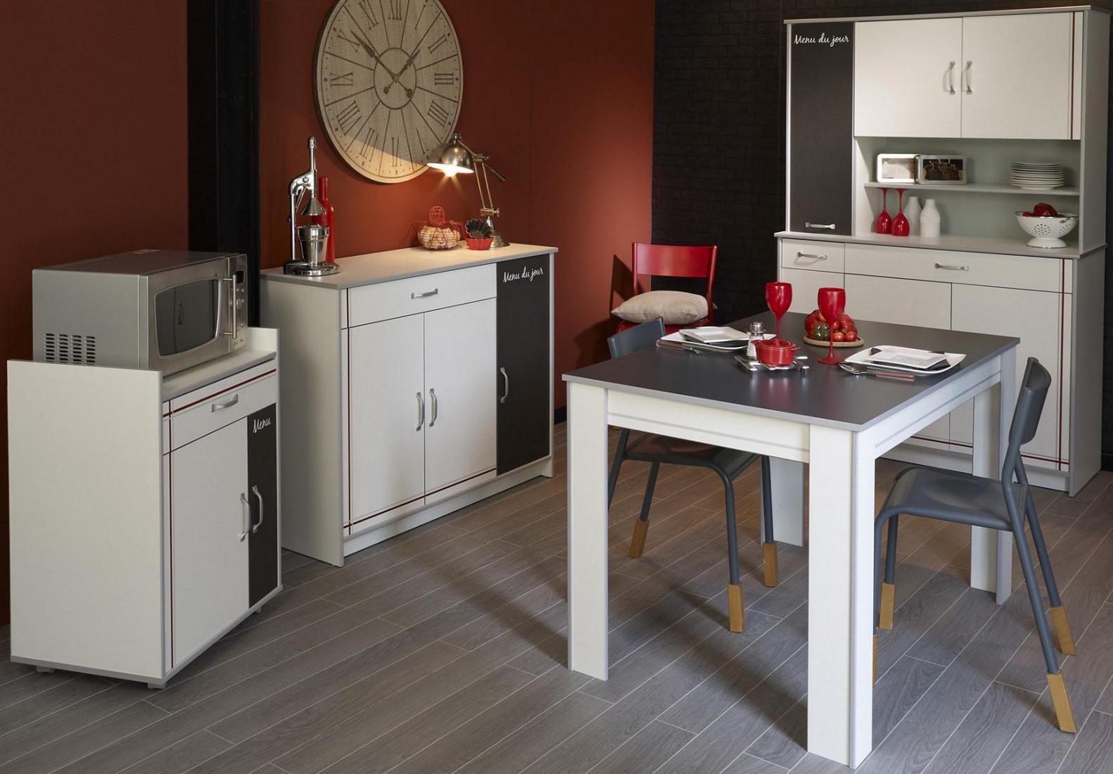 esszimmergruppe risto 4 teilig in wei alu melamin kaufen bei m bel lux. Black Bedroom Furniture Sets. Home Design Ideas