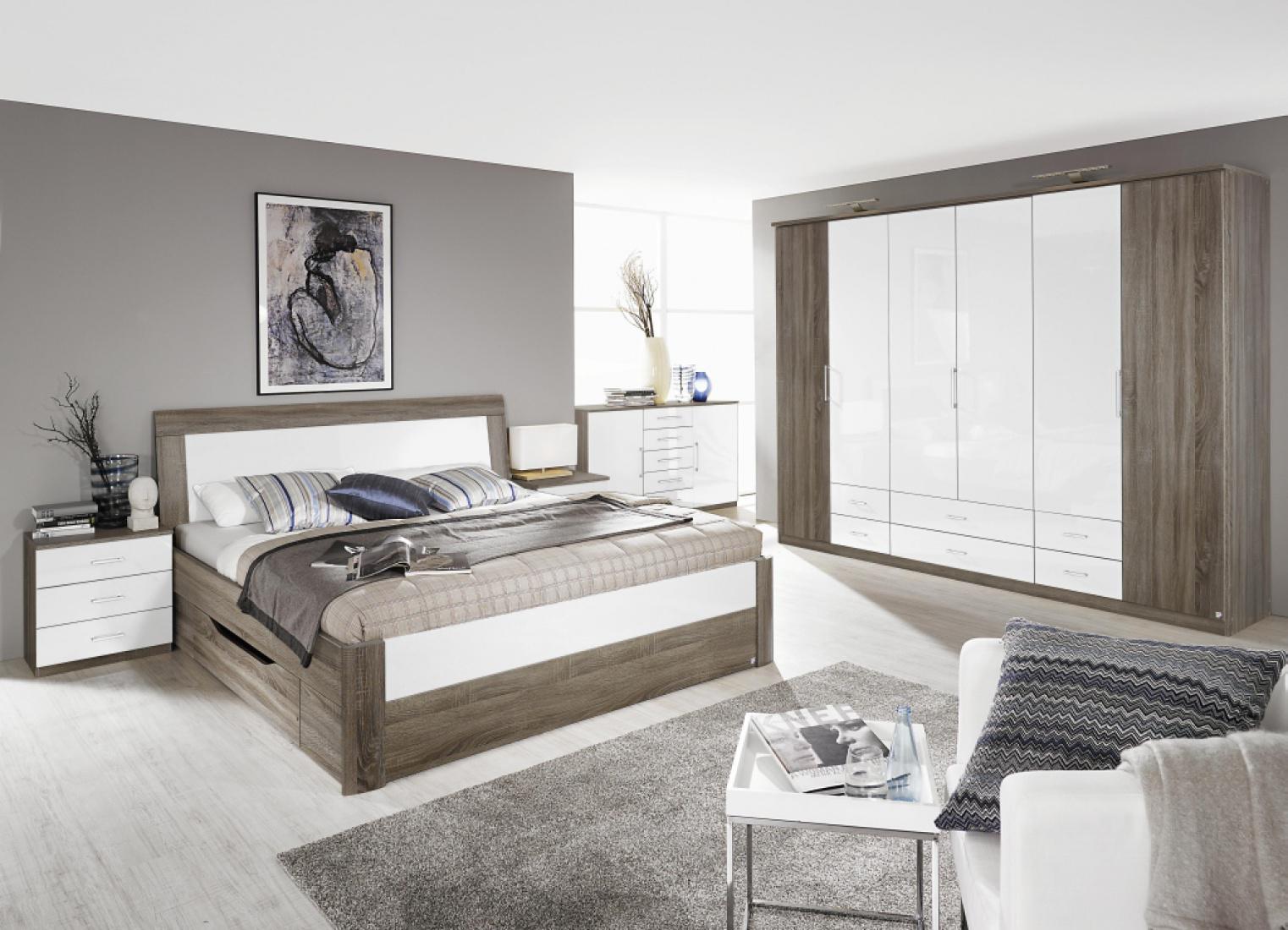 komplett schlafzimmer arona 4 teilig versch bettgr en kaufen bei m bel lux. Black Bedroom Furniture Sets. Home Design Ideas