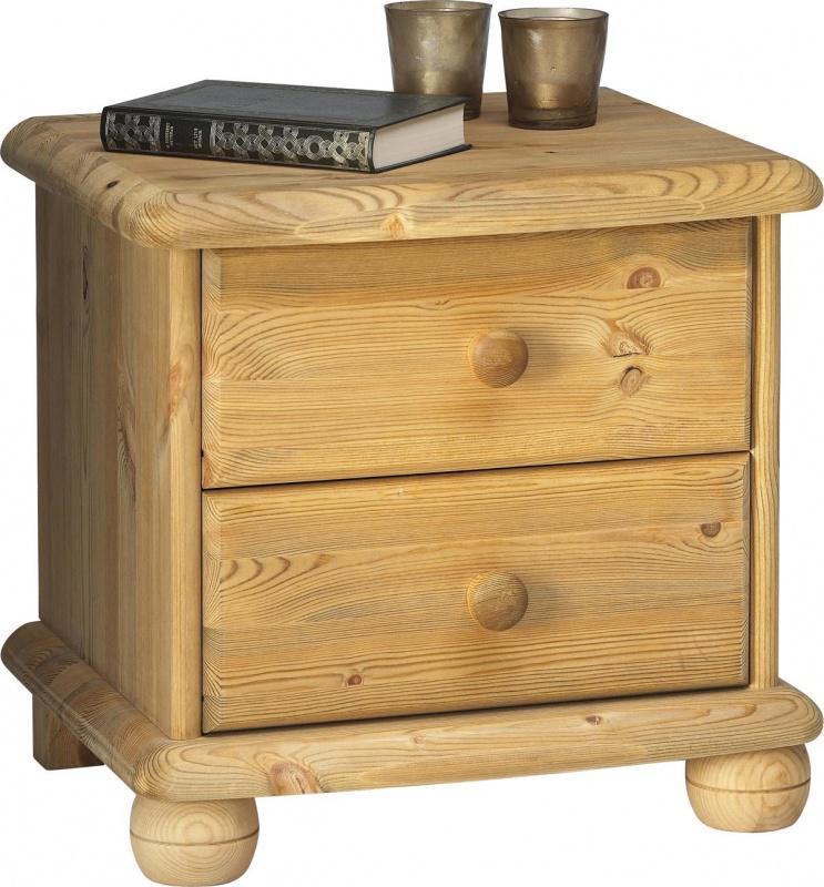 max nachtkommode kiefer massiv gelaugt ge lt kaufen bei m bel lux. Black Bedroom Furniture Sets. Home Design Ideas