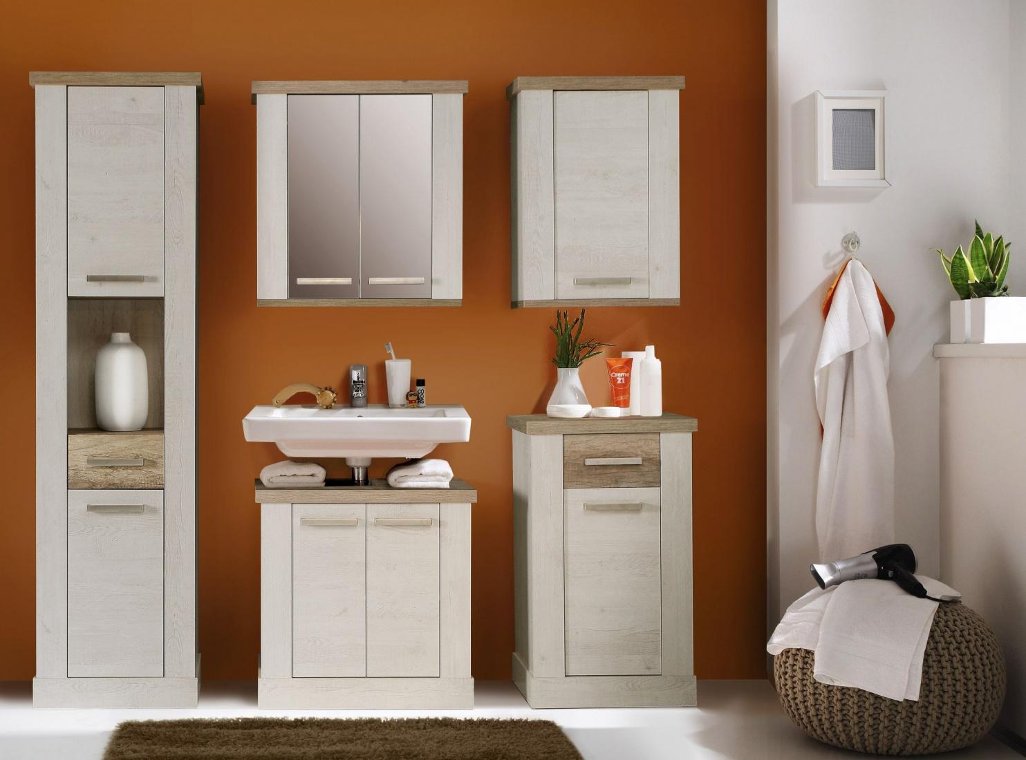 Badezimmer set hedda in pinia wei eiche antik kaufen - Badezimmer antik ...