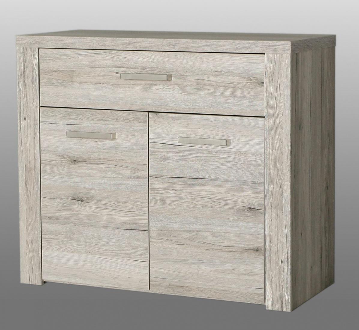 kommode julietta 2 t rig in sandeiche kaufen bei m bel lux. Black Bedroom Furniture Sets. Home Design Ideas