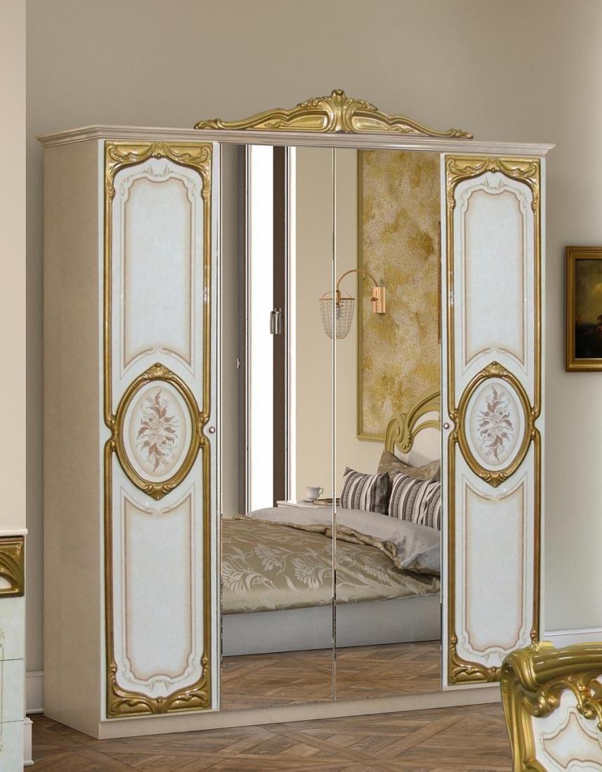 Schlafzimmer barock schwarz inspiration for Barock tapete schlafzimmer