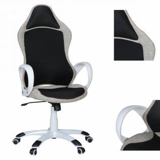 Rosberg Bürostuhl Chefsessel schwarz weiß Drehstuhl Neu