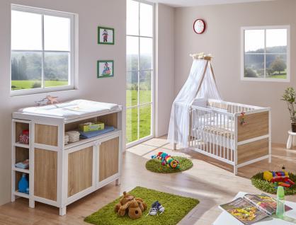 Babyzimmer Set 3-teilig Alisa inklusive Matratze