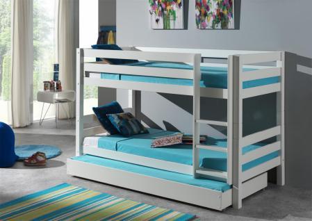 etagenbett kiefer weiss online bestellen bei yatego. Black Bedroom Furniture Sets. Home Design Ideas