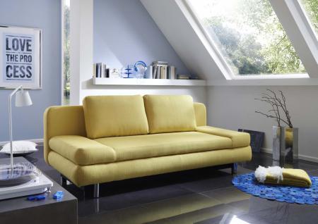 sofa gelb g nstig sicher kaufen bei yatego. Black Bedroom Furniture Sets. Home Design Ideas