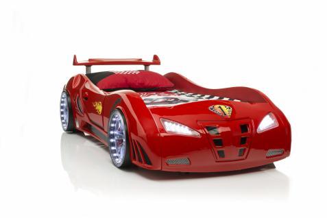 Autobett-Kinderbett RedCar mit Full Funktion