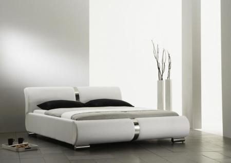 polsterbett weiss 160 200 g nstig kaufen bei yatego. Black Bedroom Furniture Sets. Home Design Ideas