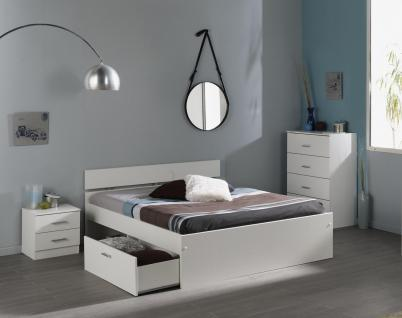 stauraumbett weiss g nstig online kaufen bei yatego. Black Bedroom Furniture Sets. Home Design Ideas