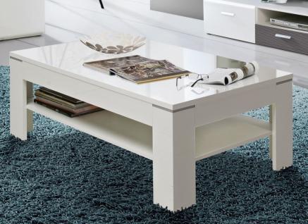 couchtisch weiss grau hochglanz g nstig bei yatego. Black Bedroom Furniture Sets. Home Design Ideas
