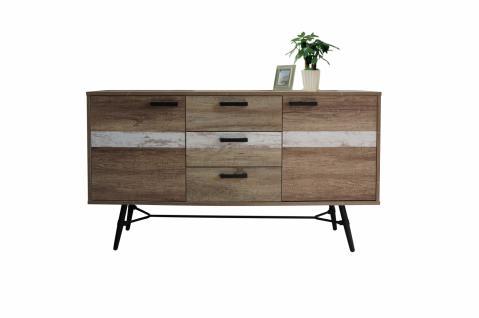 sideboard design metall online bestellen bei yatego. Black Bedroom Furniture Sets. Home Design Ideas