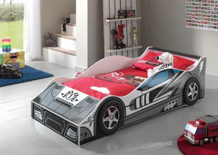 Autobett Race Car 70x140cm in Grau