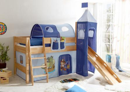 hochbett rutsche g nstig sicher kaufen bei yatego. Black Bedroom Furniture Sets. Home Design Ideas