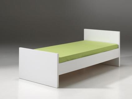 Kinderbett Inese 90x200 cm in Weiß