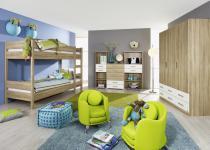 Kinderzimmer SAMIRA (5-teilig)