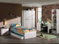Kinderzimmer Set Loly 6-teilig in Weiß