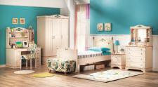 Cilek Flora Jugendzimmerset 6-teilig mit XXL-Bett