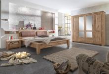 Schlafzimmer Set Annika 2- teilig in Asteiche massiv geölt