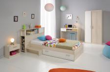 Kinderzimmer Tesso in Akazie Weiß 5 teilig