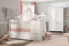 Cilek Romantic mitwachsendes Babyzimmerset 3-teilig
