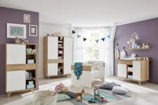 Babyzimmer Set Berry 5-teilig in Eiche Riviera Honig