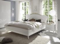 Nachtkommode Grete in Weiß-Hochglanz lackiert